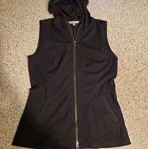 Cabi black SZ S hooded vest
